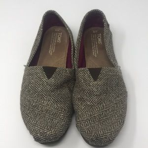 Toms tapestry brown gold